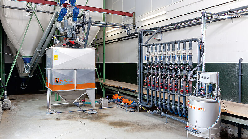 Flüssigfütterung HydroMix