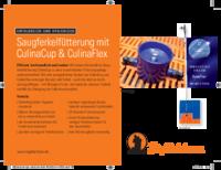 Saugferkelfütterung mit CulinaCup & CulinaFlex
