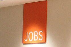 Aufschrift: Jobs