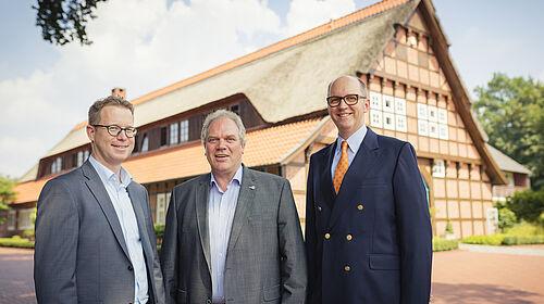 Lars Vornhusen, Siegbert Bullermann und Bernd Meerpohl