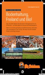 Bodenhaltung, Freiland und Bio!