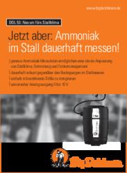 Ammoniak im Stall dauerhaft messen!