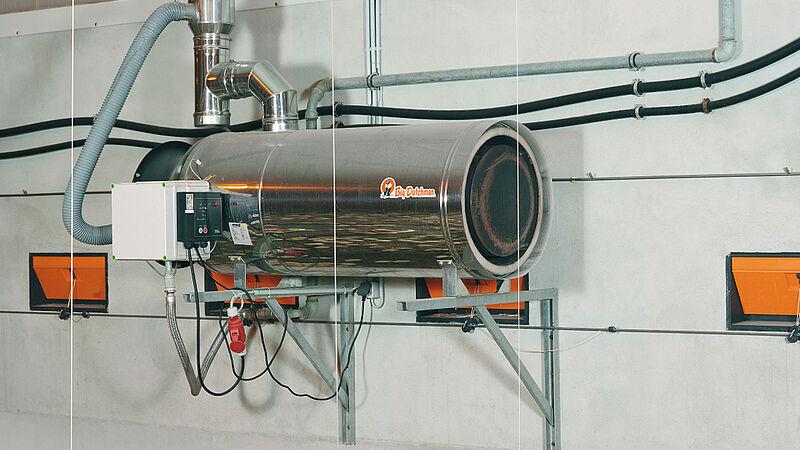 Stalleinrichtungen für den niedrigem Energieverbrauch: RGA100-Heizgeräte