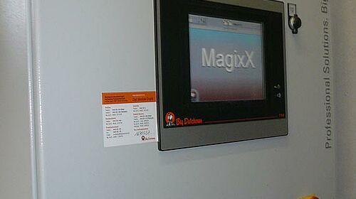 Magixx-Steuerung für die Abluftreinigung