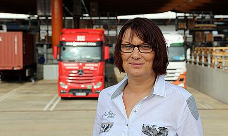Silberne Arbeitsjubilarin Petra Kathmann