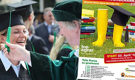 Die Fachzeitschrift top agrar veranstaltet das dritte bundesweite Agrar-Hochschulranking