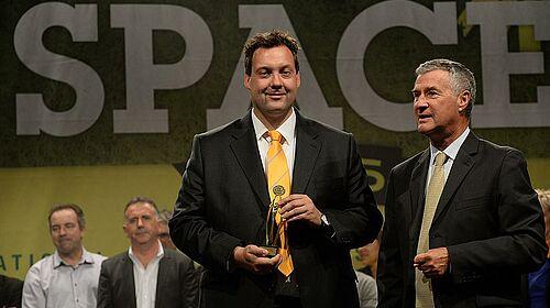 Ralf Meyer mit Innovationspreis für den Bereich Geflügelhaltung