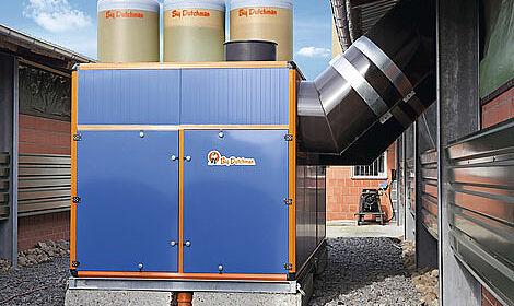 Heizkosten sparen und gleichzeitig Abluftreinigung im Geflügelstall: der Wärmetauscher Earny