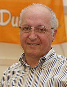 Jubilar August Wienken: seit 35 Jahren bei Big Dutchman