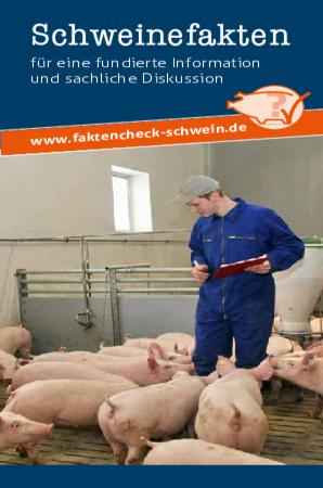 Broschüre Schweinefakten - Download