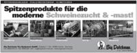 Spitzenprodukte Ferkelaufzucht und Schweinemast