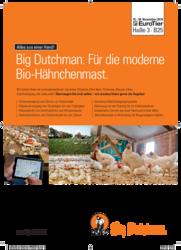 Big Dutchman: Für die moderne Bio-Hähnchenmast.