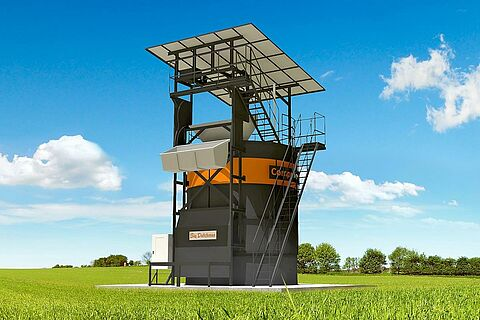 Kompostieranlage CompoTower