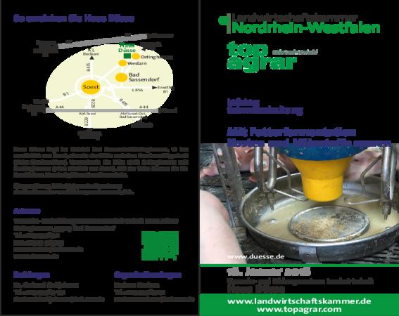 Flyer: Mit Futterfermentation Kosten und Nährstoffe sparen