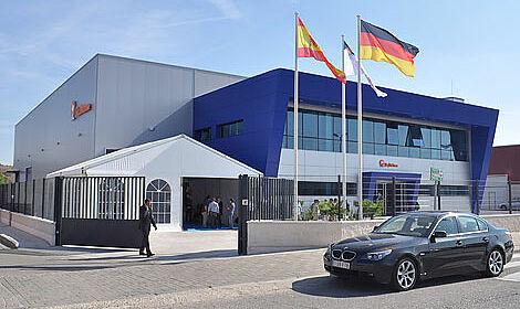Die Big Dutchman-Niederlassung BD Iberica an ihrem neuen Standort in der Nähe von Madrid
