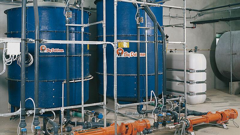 Fütterungsanlagen: Flüssigfütterung HydroMix