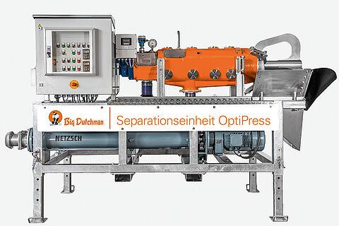 Pressschneckenseparator OptiPress