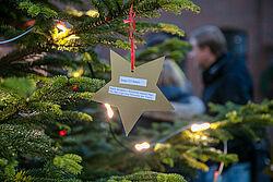 Weihnachtsbaum mit Wunschstern