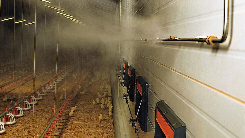 Fogging Cooler – das Hochdruck-Vernebelungssystem