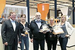Gruppenphoto mit den Gewinnern
