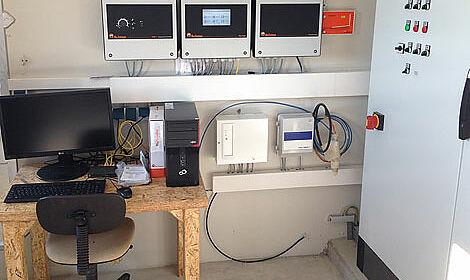 Computer für das Stallmanagement