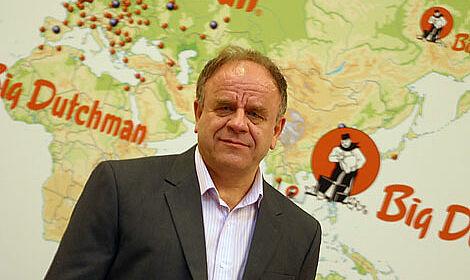 35jährige Tätigkeit bei Big Dutchman: Arbeitsjubilar Heinz Südkamp