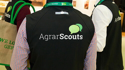 Drei AgrarScouts