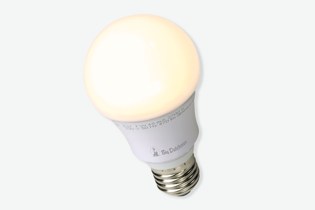 LED-Lampe und LED-ERS-Dimmer | Geflügelmast | Big Dutchman
